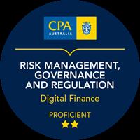 Risk Management, Governance and Regulation Micro-credentials badge