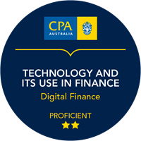 Technology and Its Use in Finance Micro-credentials badge