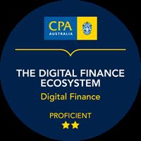 The Digital Finance Ecosystem Micro-credentials badge