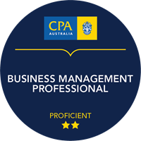 Business Management Professional Micro-credential badge