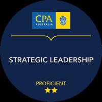 Strategic Leadership Micro-credential badge