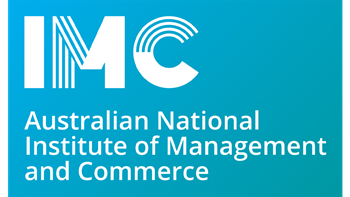 Australian National Institute of Management and Commerce logo